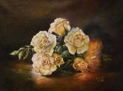 Picturi cu flori Roses in  light
