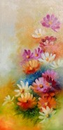 Picturi cu flori Stelute