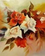 Picturi cu flori Trandafiri -1-2013