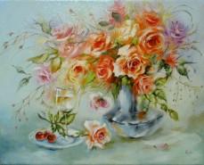 Picturi cu flori Trandafiri 1-2012