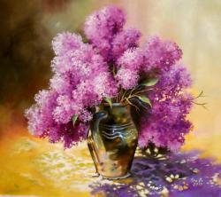 Picturi cu flori Ulcica de primavara