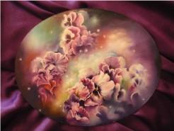 Picturi cu flori Visul panselutelor