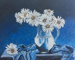 Picturi cu flori Flori de dimineata