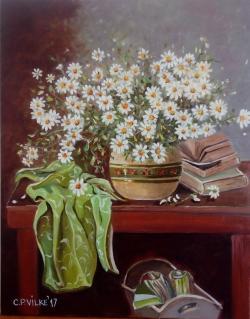 Picturi cu flori Versuri si miresme