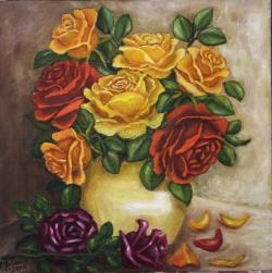 Picturi cu flori Decorativ