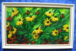 Picturi cu flori Bulgari de soare