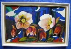Picturi cu flori Flori gingase