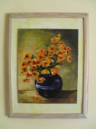 Picturi cu flori Galben de primavara
