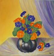 Picturi cu flori Primole