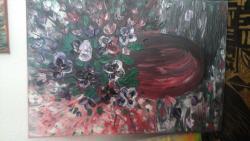 Picturi cu flori panselute moov