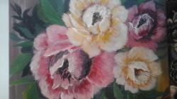 Picturi cu flori trandafirasi patru