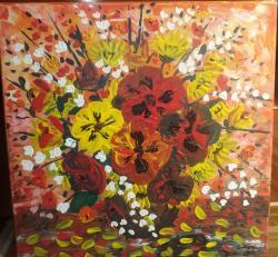 Picturi cu flori Diferite