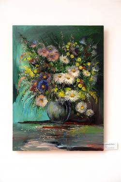 Picturi cu flori Astre.