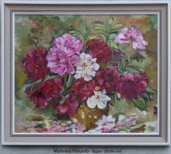 Picturi cu flori Bujori, 2013