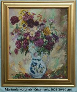 Picturi cu flori Crizanteme, 2003