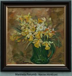 Picturi cu flori Narcise, 2016