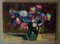 Picturi cu flori flori in vaza1