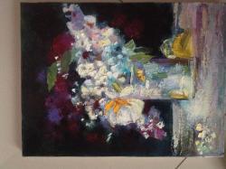 Picturi cu flori flori in vaza2