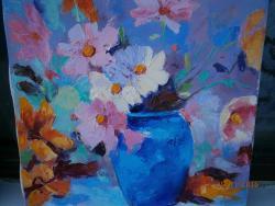 Picturi cu flori flori in vaza 4