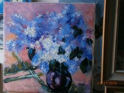 Picturi cu flori lilieci