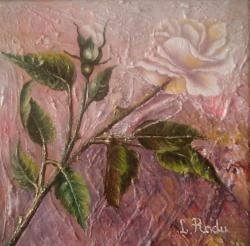 Picturi cu flori De unul singur
