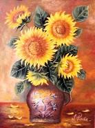 Picturi cu flori Floarea-soarelui