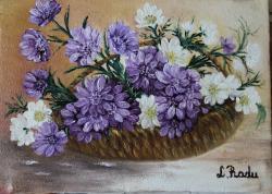 Picturi cu flori Flori Nemuritoare