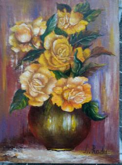 Picturi cu flori Galbiorii