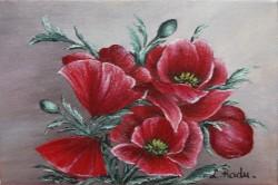 Picturi cu flori Macii miniatura