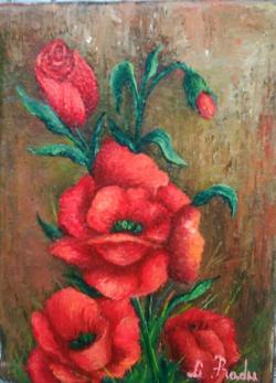 Picturi cu flori niste maci