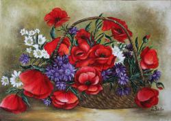 Picturi cu flori Papaverales