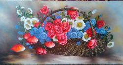 Picturi cu flori Papaverales 1