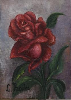 Picturi cu flori Red Rose