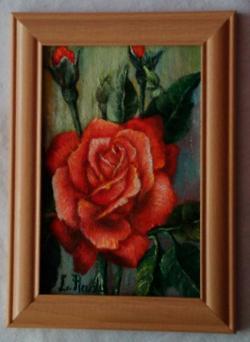Picturi cu flori Rose 2-cu rama