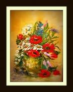 Picturi cu flori Flori de camp ii
