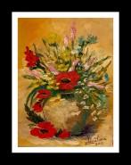 Picturi cu flori Flori de camp iii