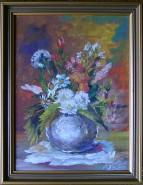 Picturi cu flori Flori din dar
