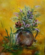 Picturi cu flori Leacul ochilor