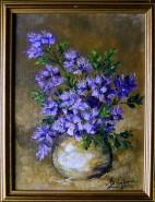 Picturi cu flori Pata de culoare