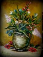 Picturi cu flori Ulciorul cu miresme