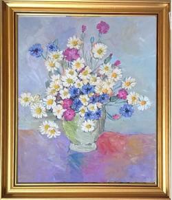 Picturi cu flori G170-FLORI DE CÂMP
