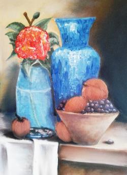 Picturi cu flori Crude