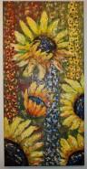 Picturi cu flori Floarea soarelui 1