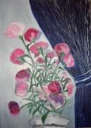 Picturi cu flori Violet