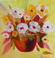 Picturi cu flori Anemone