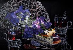 Picturi cu flori Crocuses