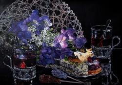Picturi cu flori Branduse
