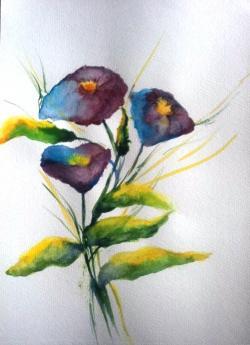 Picturi cu flori Daruire