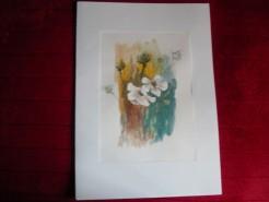 Picturi cu flori Flori si ciulini