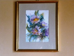 Picturi cu flori Mov